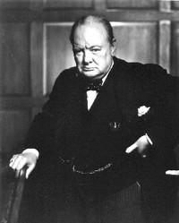 Konspiracijos teorijos šalininkai teigia, jog masonų brolijai priklauso ir taip jų įtaką pasauliniu mastu užtikrina įvairių valstybių vadovai. Tarp jų - ir Didžiosios Britanijos ministras pirmininkas Vinstonas Čerčilis.
