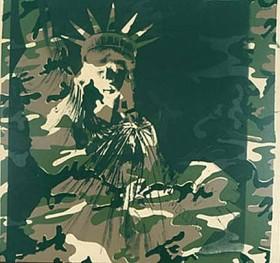 Andy Warhol. Laisves statula. 1986