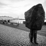 Reikjavike stūksantis monumentas Nežinomam Biurokratui.