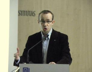 Dr. Liutauras Gudžinskas. VU TSPMI nuotrauka.