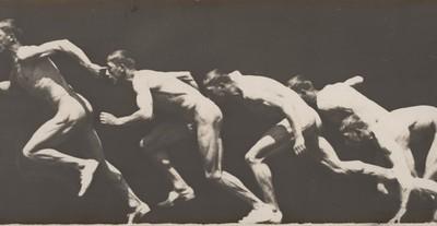 """George Demeny, Etienne-Jules Marey """"Sprinteris"""". 1890-1900"""