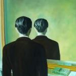 """René Magritte """"Edvardo Džeimso portretas (Uždrausta reprodukcija)"""". 1937"""