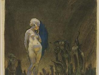 Frantisek Kupka. (Czech 1871-1957). Admiration. (c. 1899) e