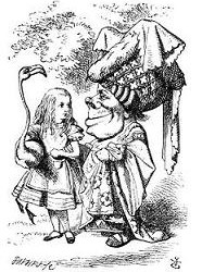 John Tenniel Alisa ir karaliene2