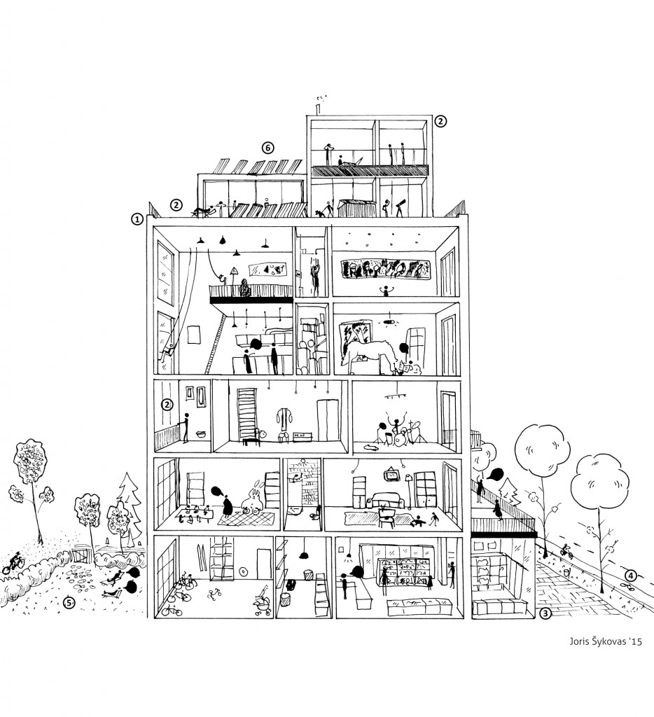 Kaip įžiebti gyvybę miegamiesiems rajonams pasitelkus architektūrą?