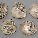 XIV a. pab.-XV a. monetų radiniai. Lietuvos nacionalinio muziejaus nuotr.