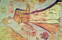 """Vidinės Centrinės Europos linijos, nagrinėjant jas istorijos tėkmėje, prašosi dar vieno atskyrimo: Europos padalijimo į Rytinę, Vakarinę, Rytų – Centrinę ir Vakarų – Centrinę dalis. S. Münster """"Europa Regina"""""""