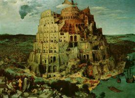 """Žlugimas – prielaida pokyčiui. Ar gali Vakarų nuosmukis lemti kokybinę krikščionybės transformaciją? Pieter Bruegel """"Babelio bokštas"""". 1563"""