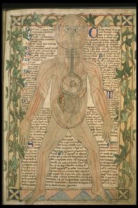 Viduramžių manuskripto iliustracija