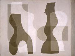 "Jessica Dismorr, ""Superimposed Forms"". 1938 m."