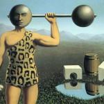"""Rene Magritte """"Amžinasis judėjimas"""", 1935 m."""
