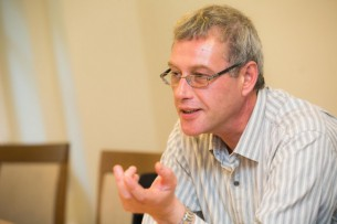 Prof. Raimundas Lopata. VU TSPMI nuotrauka.