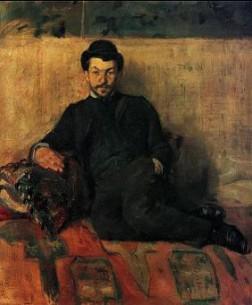 Henri de Toulouse-Lautrec ''Gustave Lucien Dennery portretas''. 1883